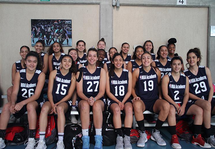 Regresa a México el Programa para mujeres de las Academias NBA