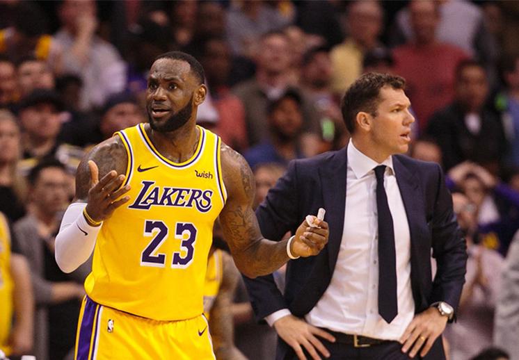 Los Lakers contra el mundo
