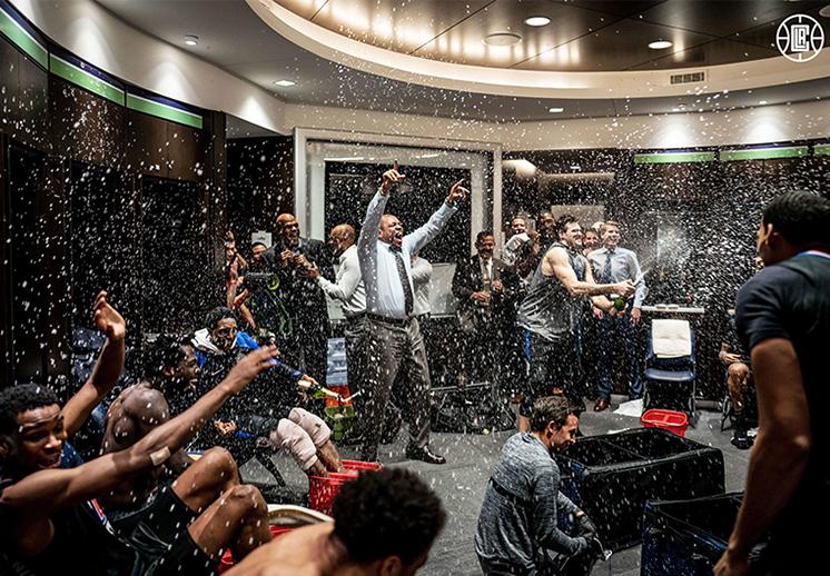 Los Clippers rompieron quinielas