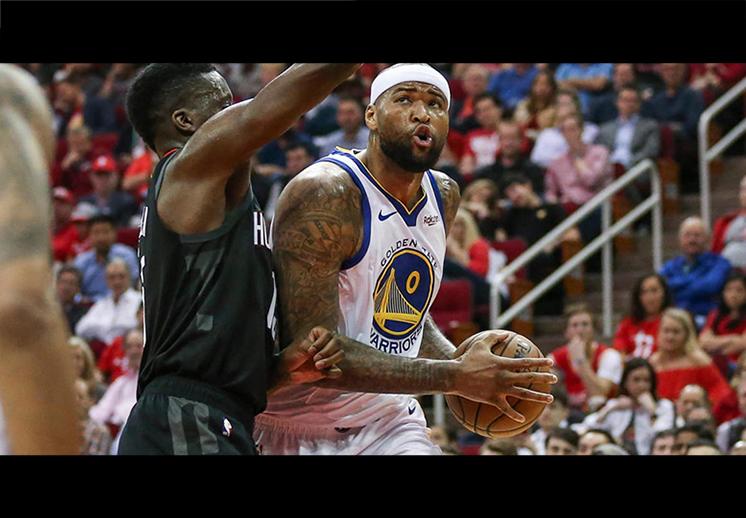 Los Warriors pusieron fin a la racha de los Rockets