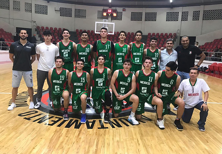 Llega primer triunfo para México en COCABA U16
