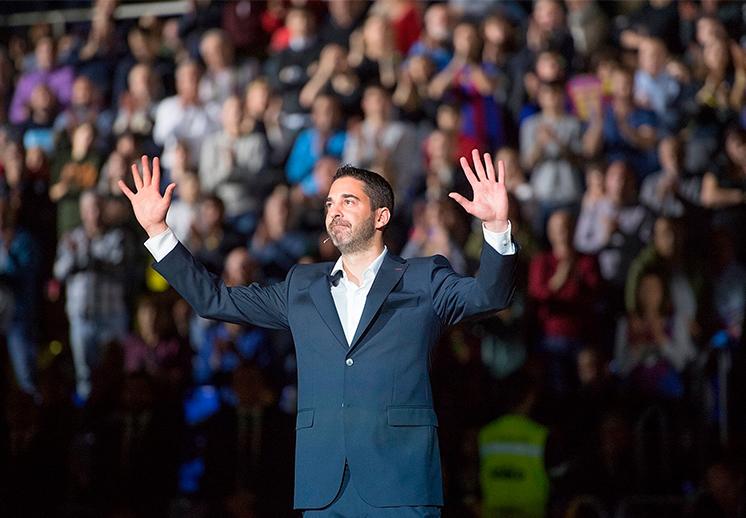 Juan Carlos Navarro leyenda en Barcelona