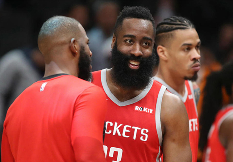 James Harden, la barba que todos temen en la NBA