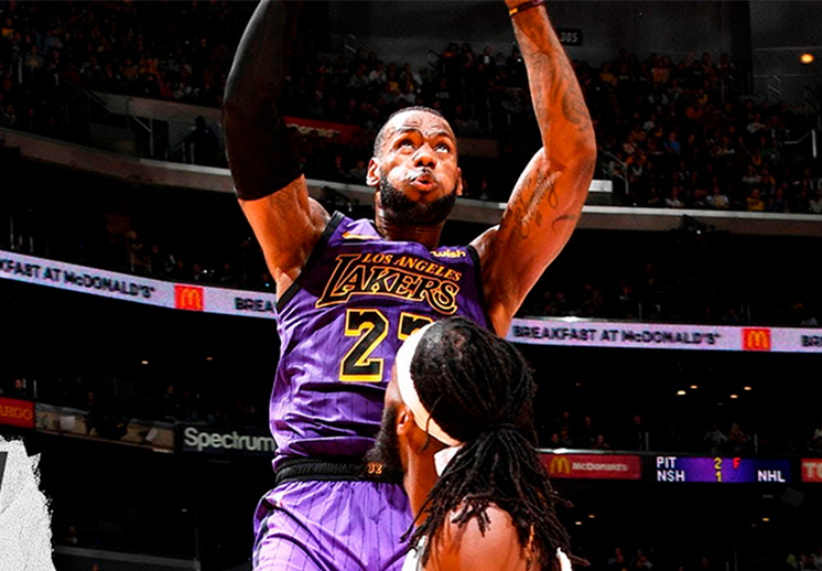 LeBron y Lakers sin playoffs
