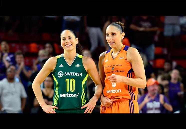 Las líderes de la WNBA