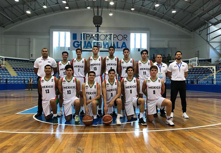 México con paso arrollador en COCABA U16