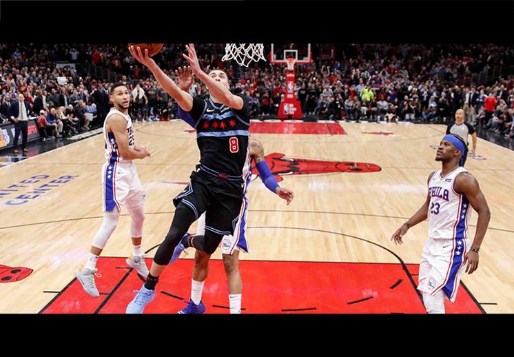 Un Zach LaVine endiablado rescató a los Bulls