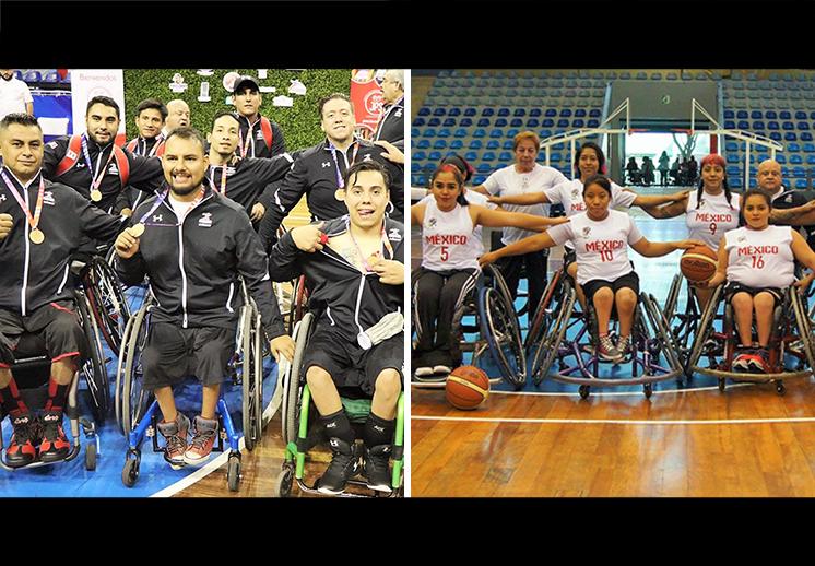 México presente con el basquetbol en silla de ruedas de Lima 2019