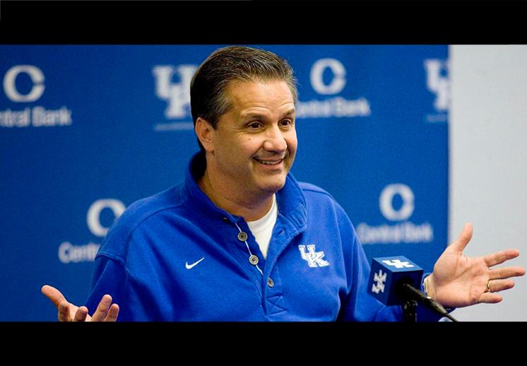 John Calpari y los Wildcats de Kentucky se juran amor eterno