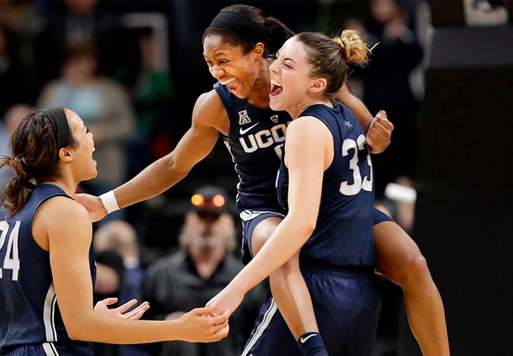 Llegan las semifinales en la NCAA Femenil
