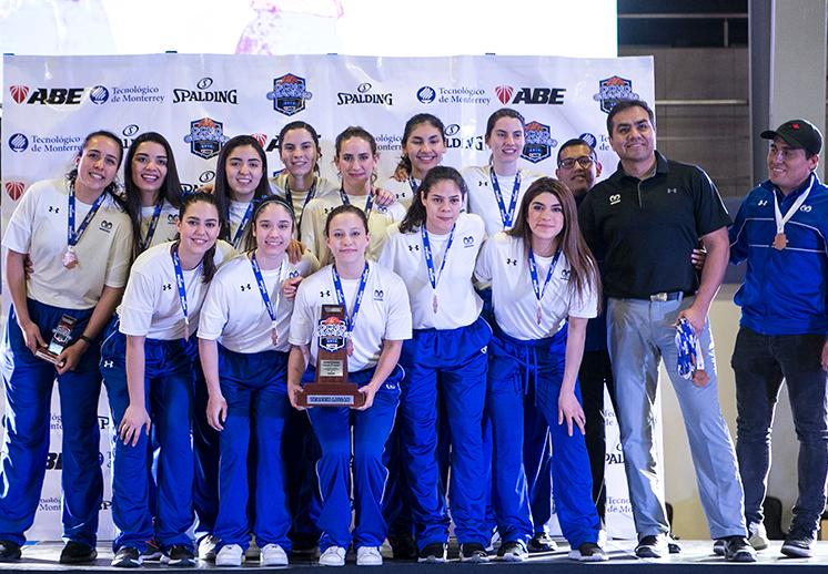 Borreguitas de Monterrey suben al podio en los Ocho Grandes 2019