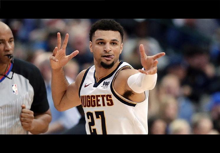 Jamal Murray salvó a los Nuggets de Denver