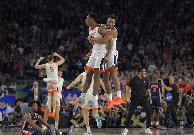 Virginia y Texas Tech le meten drama a la final de la NCAA
