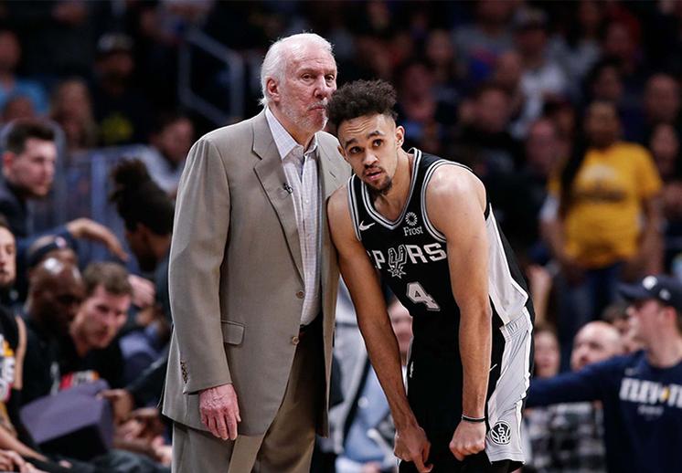 El romance entre los Spurs y Gregg Popovich no tiene fin