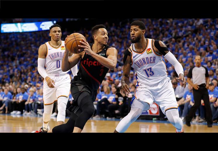 Los Blazers de Portland sentenciaron al Thunder