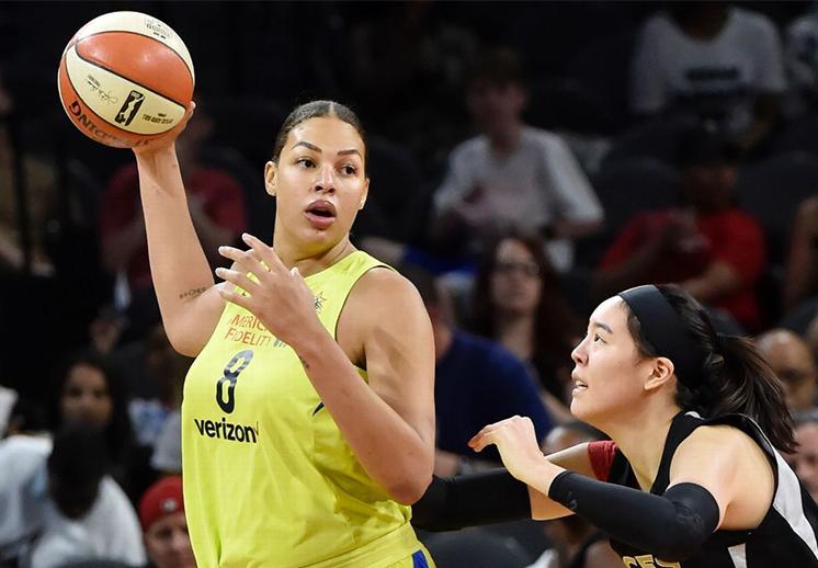 El contraste entre la WNBA y la NBA