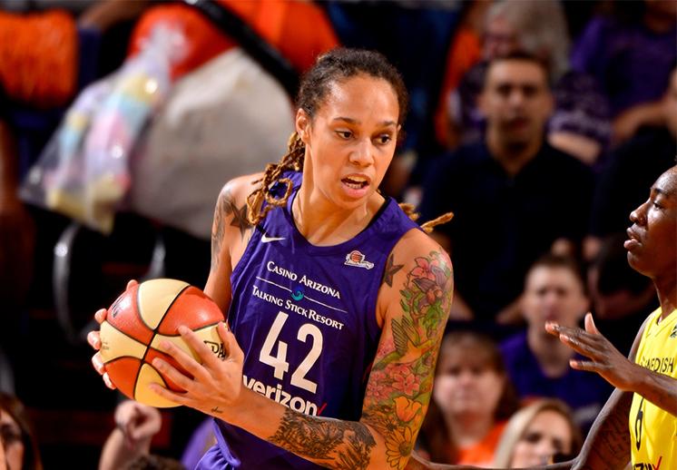 Brittney Griner, una grande de la WNBA