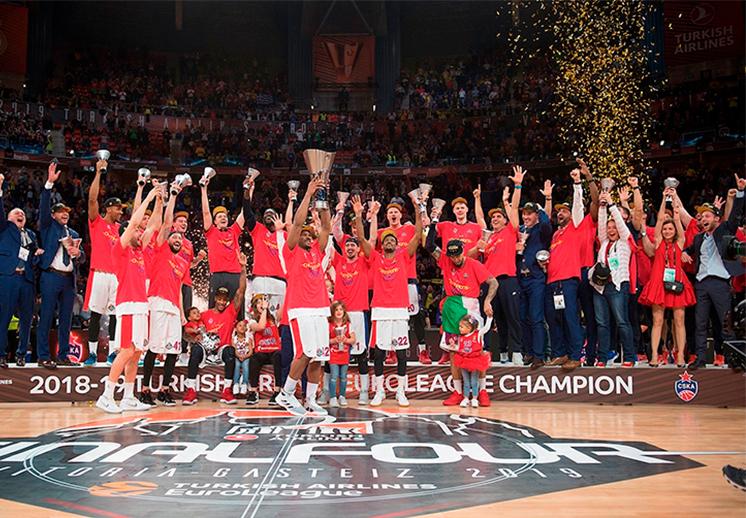El CSKA se coronó monarca del basquet europeo
