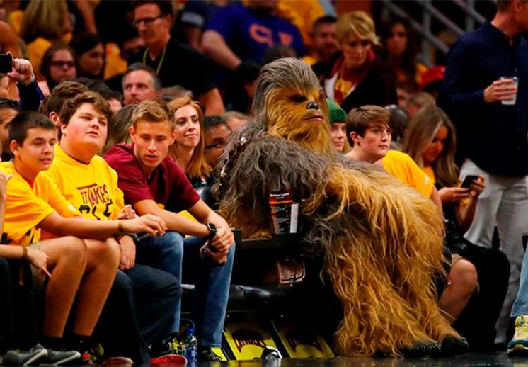 La historia de Chewbacca basquetbolista