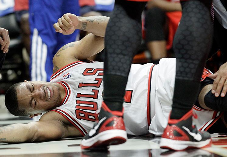 Derrick Rose, una carrera lesionada