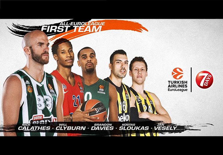Listo el Equipo Ideal de la Euroleague