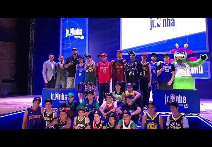 El Jr. NBA está de regreso en México