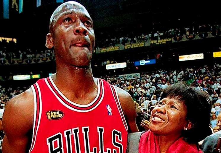 Michael Jordan y las enseñanzas de su madre