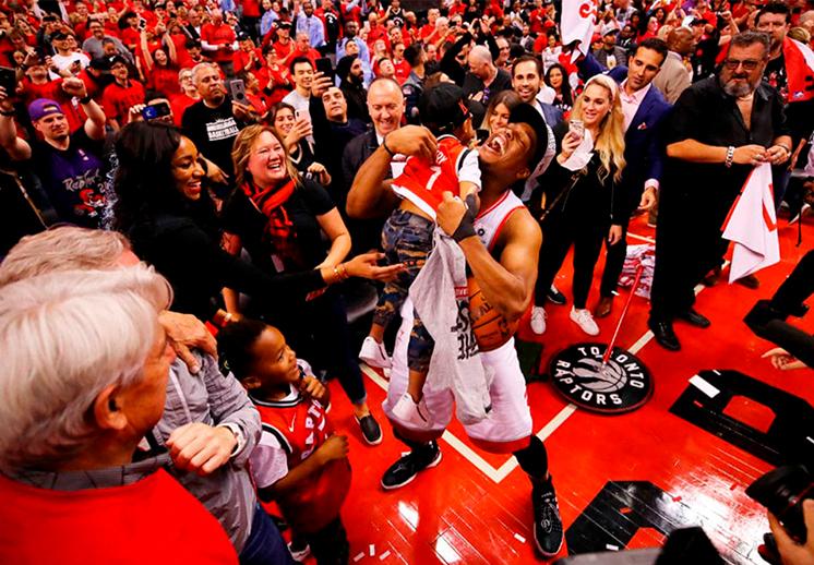 Las reacciones al triunfo de los Raptors