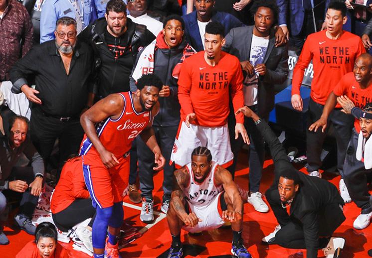 El final agónico entre Sixers y Raptors