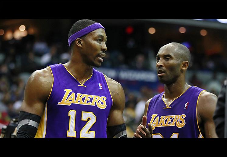 Dwight Howard le echó flores a Kobe Bryant