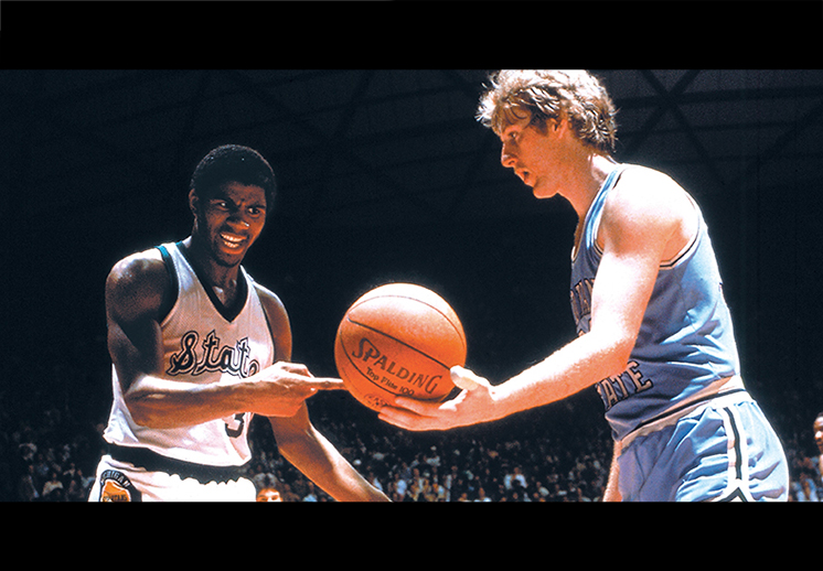 Magic y Bird serán homenajeados por la NBA