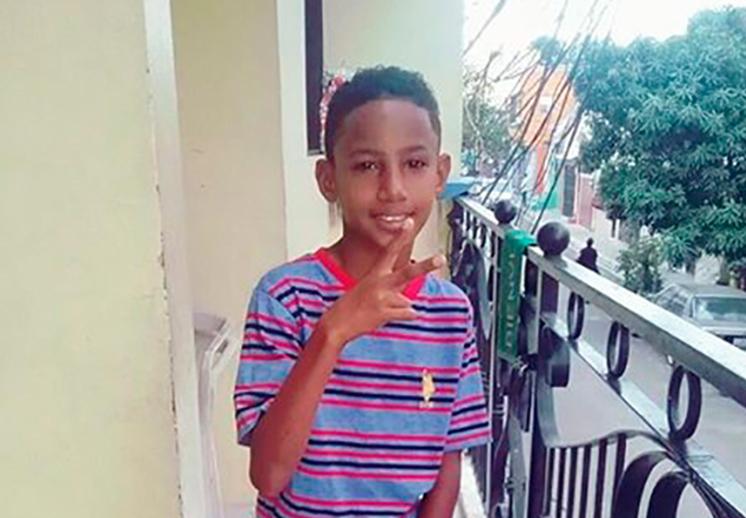 Roldany Velez, el niño dominicano que rompió el internet