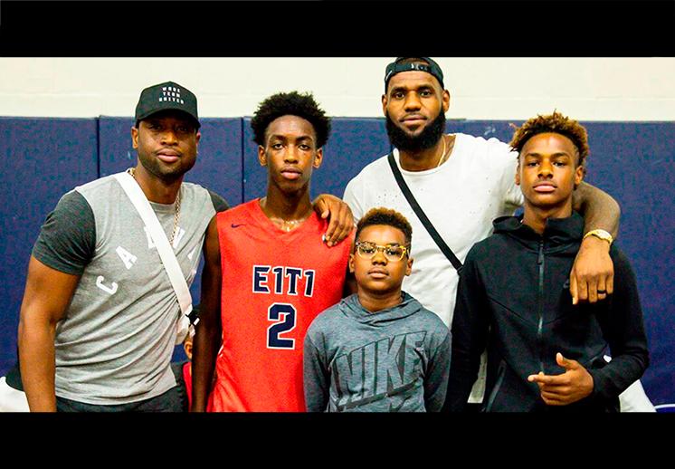 La prepa Sierra Canyon, la favorita de los juniors de la NBA