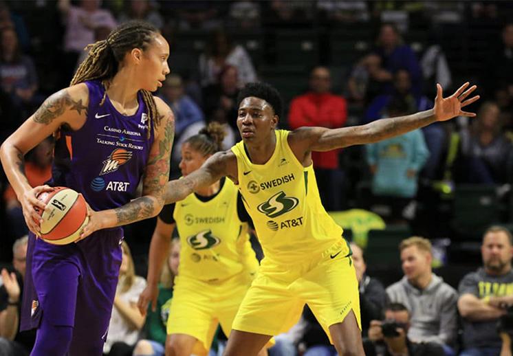 Así estuvo el fin de semana inaugural de la WNBA