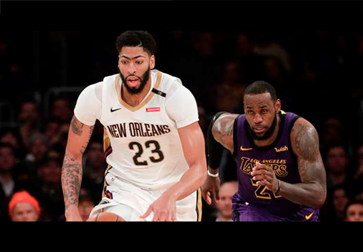 Anthony Davis llega a Lakers