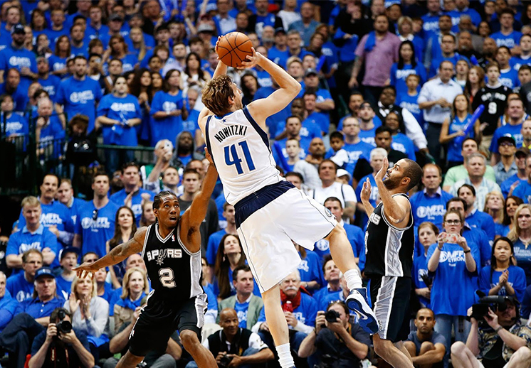 Dirk Nowitzki, la leyenda de los Mavericks