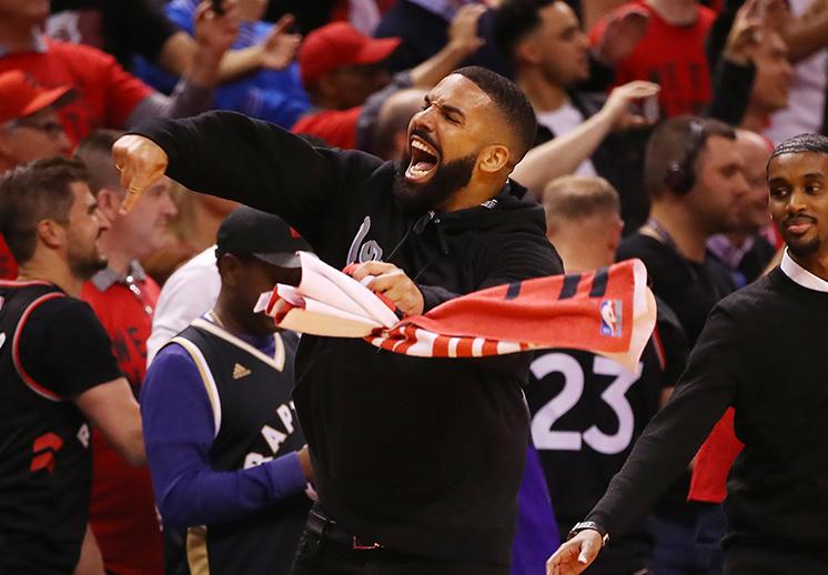 Drake y los Raptors