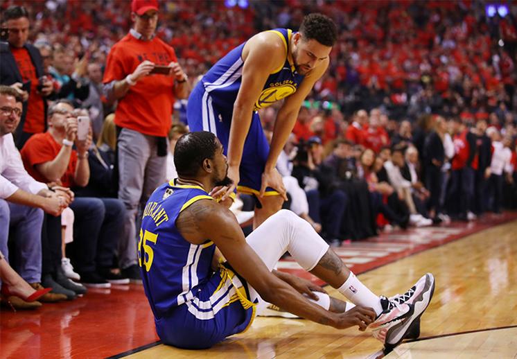 ¿Karma, injusto, cómo calificar el legado de Kevin Durant tras su lesión?