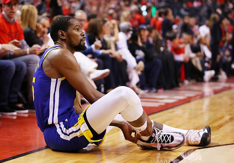 ¿Cuáles serán las consecuencias de la lesión de Kevin Durant?