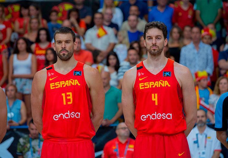Los hermanos Gasol hicieron historia en la NBA