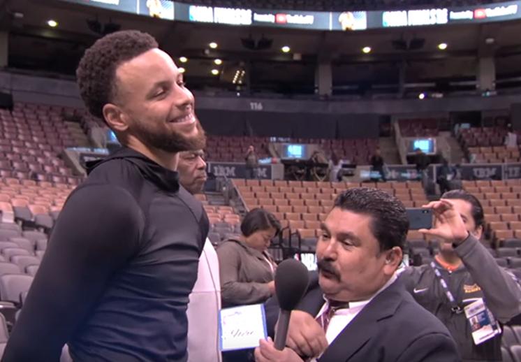 Guillermo y su participación en las Finales de la NBA
