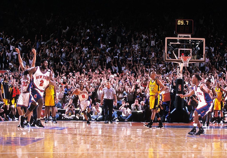 Cuando Larry Johnson encendió el Madison Square Garden