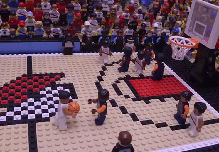Grandes momentos de la NBA en su versión Lego