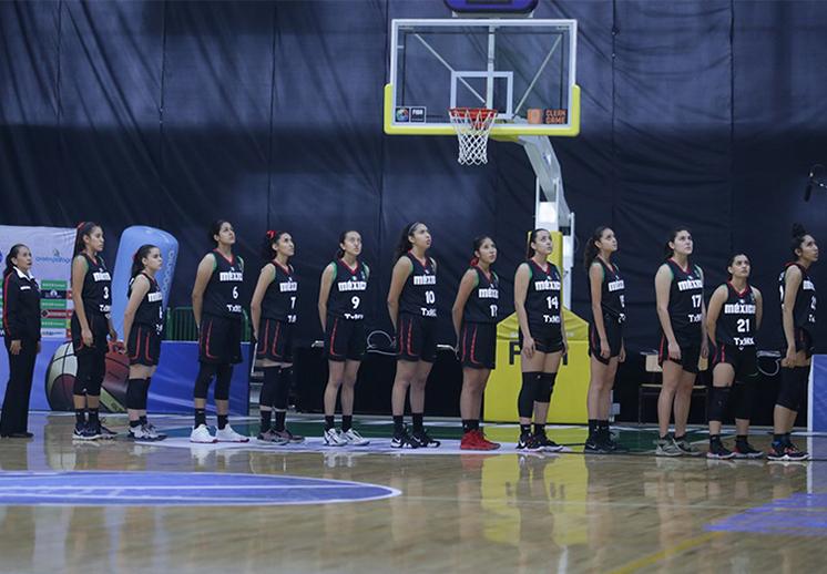 Las jóvenes mexicanas sacaron la casta en el FIBA Americas U16