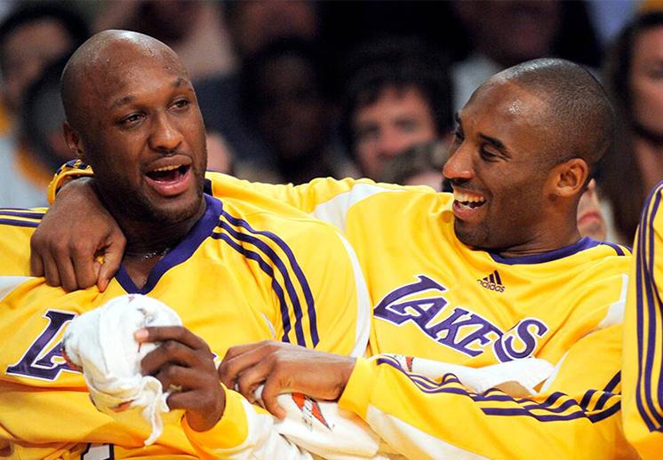 La huella que Kobe Bryant dejó en Lamar Odom