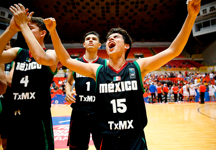 Oro histórico para México U17 en el Centrobasket