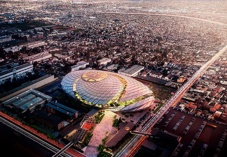 Así será la nueva casa de los Clippers de Los Angeles