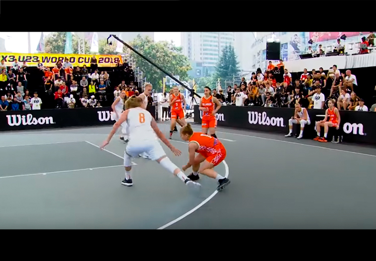 El show del FIBA 3X3 World Tour
