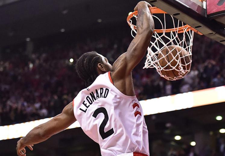 Los números de la final de MVP Leonard