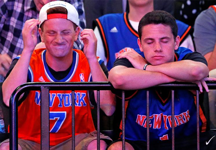 ¿Qué pasó con los Knicks?